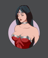 Wonder woman by Artdevangins