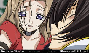 Lelouch and Nunally vector by yiny-chan