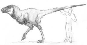 Pseudo-tyrannosaurid by povorot