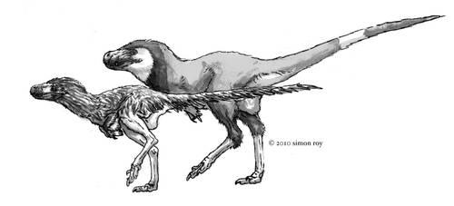 The Pseudo-tyrannosaurids by povorot