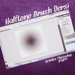 #1 Making Halftone Brushes by mechulkedi