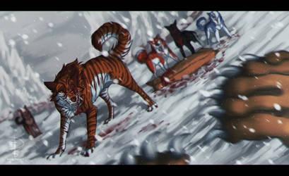 Akatora [SPEED PAINT] by Fox-Desert
