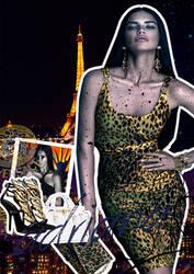 Fashion Collage Adriana Lima by dealwyouth