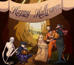 Happy Halloween SCP by lazy-flup