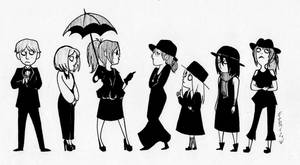 SNK- On Wednesdays We Wear Black by hareno