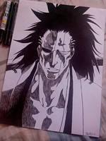 Zaraki Kenpachi by kira789
