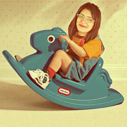 rocking horse by BusrAvclr