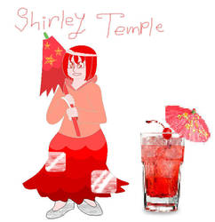 Shirley Temple - Personified Drink by 13dawn13