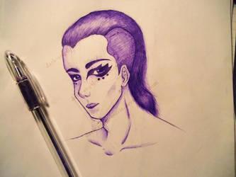 Purple Character by Dark-Angel-Marie