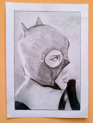 unfinished Catwoman by acromax