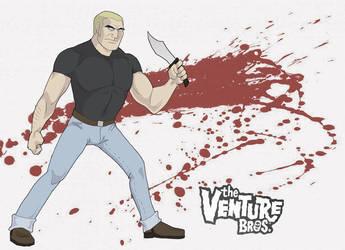 Brock Samson by asta-chan