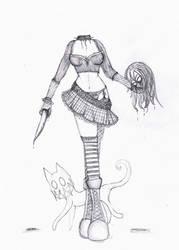 Halloween Girl by Tigra-kitty