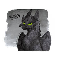 ..:Toothless:.. by Drawerlous-drawer