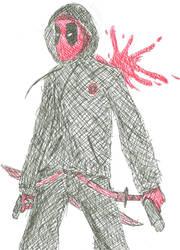 Gangsta Deadpool by Draezeth
