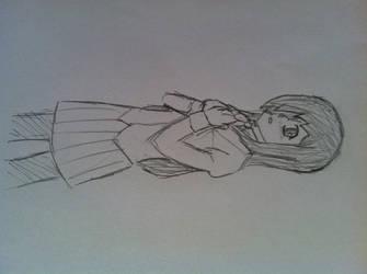 5 minute Hanako by Draezeth
