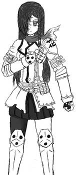 Stryker Hanako Inked by Draezeth
