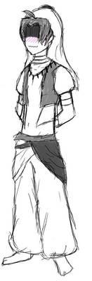 Hisao the bellydancer by Draezeth