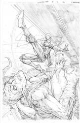 Spider vs Goblin by vmarion07