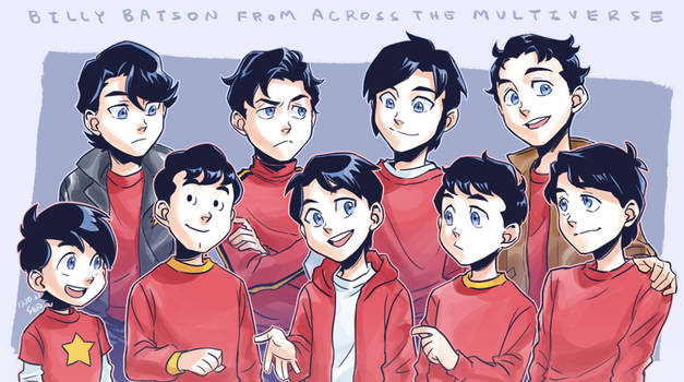 Billy Batson from across the Multiverse by Sii-SEN