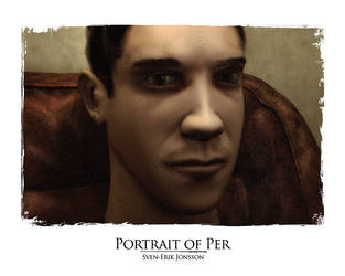 Portrait of Per by svunnig