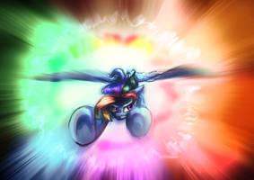 Sonic Rainboom by Alumx