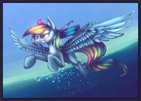 Rainbow Dash by Alumx