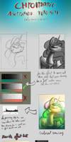 Tutorial - Color aberration effect (3D effect) by Alumx