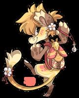 039 - Rosy Maple Moth by TheKingdomOfGriffia