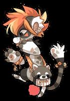 047 - Raccoon by TheKingdomOfGriffia