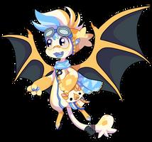 52 - Honduran White Bat by TheKingdomOfGriffia