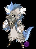 064 - Striped Hyena by TheKingdomOfGriffia