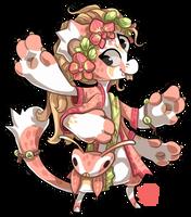 079 - Pink Orchid Mantis by TheKingdomOfGriffia