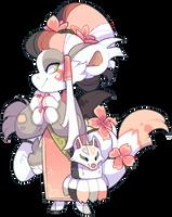 137 - Nine tailed fox by TheKingdomOfGriffia
