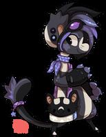 190 - Pied Bat by TheKingdomOfGriffia