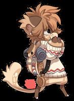 265 - Roe Deer by TheKingdomOfGriffia