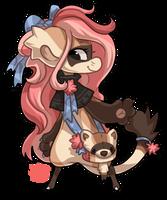 352 - Black Footed Ferret by TheKingdomOfGriffia
