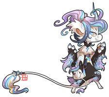 489 - Lightning Unicorn by TheKingdomOfGriffia