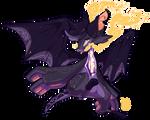 93 - Smoky Bat by TheKingdomOfGriffia