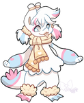 345 - Sherbert Snowball by TheKingdomOfGriffia