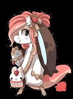 904 - Strawberry Bunny Cheesecake by TheKingdomOfGriffia