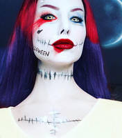 SALLY Quinn - Nightmare before Christmas by Sarina-Rose