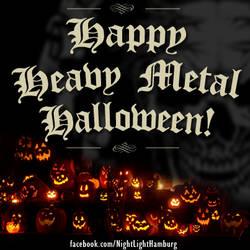 Happy Heavy Metal Halloween by ziegenatem