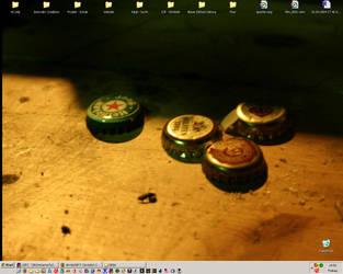 my desktop by ziegenatem