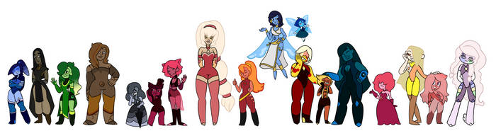 All of my gems in one place :) by arachnia86