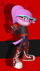 Sonic Forces - Nikki the Bird by 5magmacubes