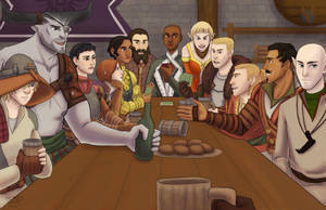 Inquisitor's Table by river-bird