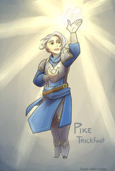 Pike Trickfoot by river-bird