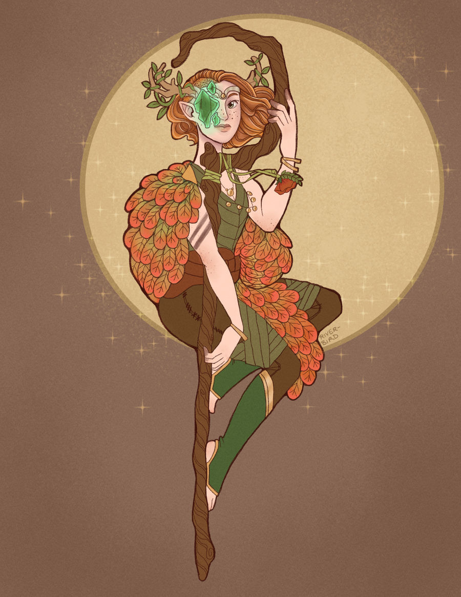 Keyleth the Voice of the Tempest by river-bird