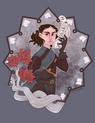 Arya Stark by river-bird