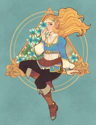 Zelda by river-bird